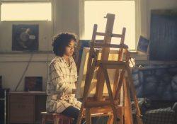 Staffeliet er et vigtigt hjælpemiddel for dig som maler